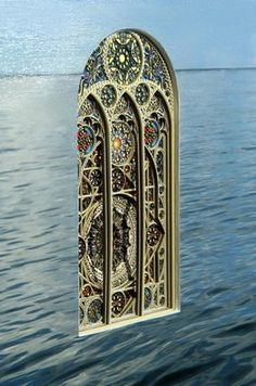 Cut Paper Sculptures look like 3D Stained Glass | WANKEN - The Art & Design blog of Shelby White #cut #sculpture #laser #art #paper