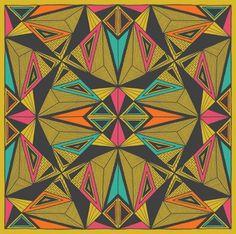 gneural #print #art #pattern #repeat #colorado #debbie clapper #pri