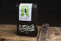 Coffee packaging designed by Fork for Moscow based roaster Torrefacto #packaging design