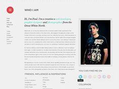 Design Inspiration / Dribbble - Portfolio - 2 by Paul Morel #vbnvbnvbn