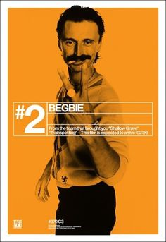Creative Review - Trainspotting's film poster campaign, 15 years on #poster #film #trainspotting #begbie