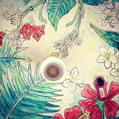 #FoodGoodseries, #floral, #design,#cup,#teatime, #lighter