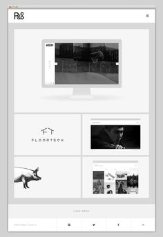 R&Co. #website #layout #design #web