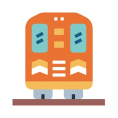 See more icon inspiration related to railway, train, transportation, back and transport on Flaticon.