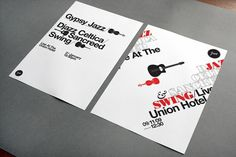 All sizes | jazz posters | Flickr - Photo Sharing! #design #graphic #poster #typography
