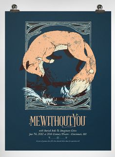 Charlie Wagers #print #fox #mewithoutyou #poster