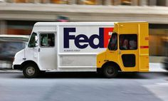 Fedex Truck #truck #plotter #fedex #idea #fast