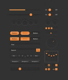 Orange orange ui psd ui ui kit Free Psd. See more inspiration related to Orange, Ui, Psd, Ui kit, Kit and Vertical on Freepik.