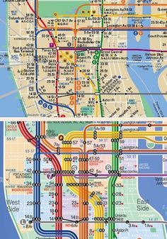 A Perfect Design? - Jamie Wieck - Design, Illustration & Creative Thinking #information #visualisation #design #subway #data #maps