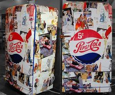 Pepsi retrô | Flickr – Compartilhamento de fotos! #decor #pepsi #retro #vintage