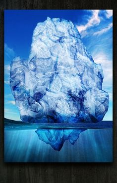 Wikileaks : SILVIA CELIBERTI #submerged #down #censorship #iceberg #wikileaks #emerged #upside