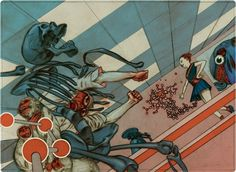 Comic Illustrations by James Jean #illustration