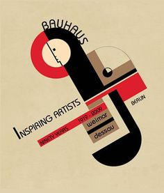 Bauhaus: Ninety Years of Inspiration #poster #bauhaus