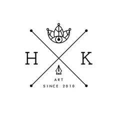 All sizes | HK - V.01 | Flickr - Photo Sharing! #design #art #logo #leaf #crown #heitor kimura #heitor #heitorkim