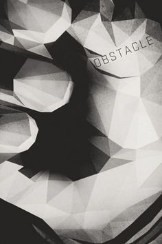 Electronix | Music and Design, Simple. #polygon #illustrator #hand #obstacle #mood #dark