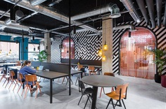 The Student Hotel in Barcelona Provides a Unique Co-Living and Co-Working Hybrid 10