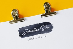 White paper with logo mock up Premium Psd. See more inspiration related to Logo, Mockup, Template, Paper, Web, Website, White, Mock up, Templates, Website template, Mockups, Up, Web template, Realistic, Real, Web templates, Mock ups, Mock and Ups on Freepik.