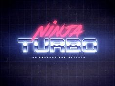 80's Text Effects for Photoshop on Behance