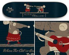 Sweet Skateboards *NEW* - Albin Holmqvist / hello@albinholmqvist.com / +46 (0)72 72 24 900 #skateboard #type #illustration