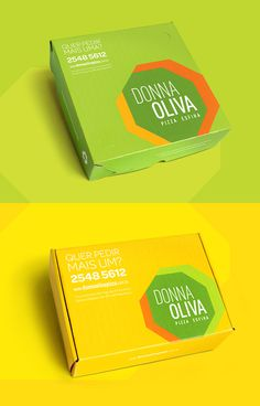 #pizzeria #packaging #package #pack #green #brazil #megalo #brand #identity #vusal identity #logo
