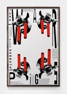 #posterdesign #architecture #art🎨 #graphics #graphicdesigner #graphicdesign #modern #blacksabbath #typography #daniel #moisan #typographi