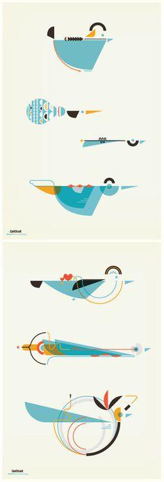 Buamai #illustration #birds
