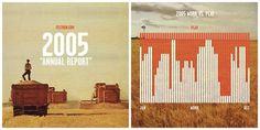 Nicholas Felton | Feltron.com #feltron #infographics #annual #2005 #report