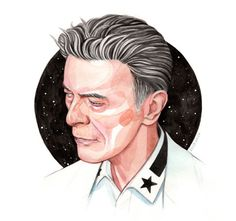 Bowie - Illustration - Helen Green