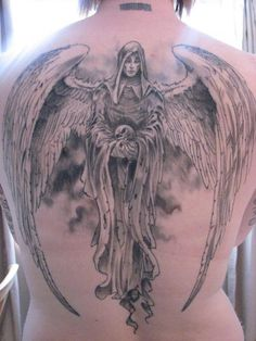 50 Holy Angel Tattoo Designs #angel #tattoo #designs