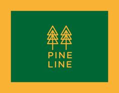 logo tree pine wood grass green forest