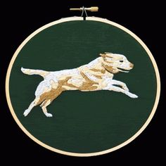 Google Reader (266) #embroidery #animation #dog