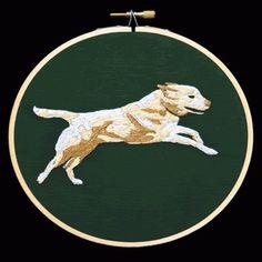 Google Reader (266) #embroidery #animation #dog