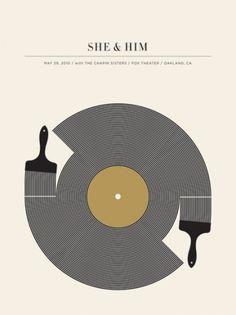 MunnShe&Him2010.jpg (JPEG Image, 450x600 pixels) - Scaled (98%) #poster #she #him