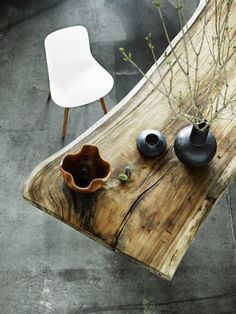 #wood #table #interior