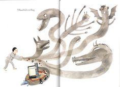 Topipittori: Vendetta tremenda vendetta #monsters #illustration #creatures #child