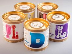 Sofi Bath Bombs | Lovely Package #white #tins #packaging #gold #blue #typography