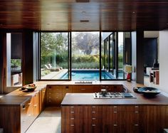 inside1.jpg (500×398) #kitchens #wood #interiors #architecture