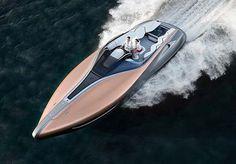 Lexus Debuts Amazing Sport Yacht Concept #LexusSportYacht #Lexus #Yacht #luxury #lifestyle