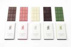 """nendo's New """"Chocolatetexture"""" Bars Come in a Variety of Delicious Flavors"""