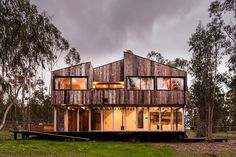 Tunquen Wooden Retreat by DX Arquitectos / Chile