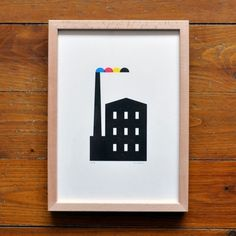 FFFFOUND! #cmyk #print #illustration