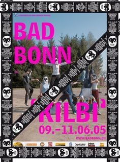 Bad Bonn Kilbi 05 - Coboi #sticker #poster