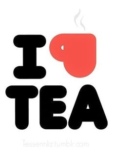 Tumblr #tea #typography