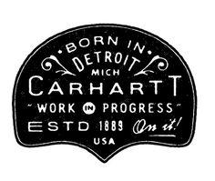 Carhartt DAN CASSARO YOUNG JERKS Design/Animation/Illustration #carhartt #lettering #cassaro #dan #typography