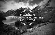 High Country Outfitters #mountain #sport #branding #nature #logo