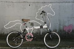 I S A #unicorn #bike #street