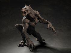 Werewolf creature by pstchoart Tsvetomir Georgiev CGHUB #werewolf #3d