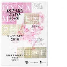 Dynamo Expo : Studio Laucke Siebein #compostition #type #poster