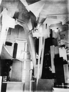 Merzbau.jpg (JPEG Image, 1191x1571 pixels) #interior #geometry #kurt #schwitters #space