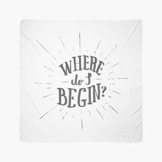 Where do I begin - Scarf by Koning